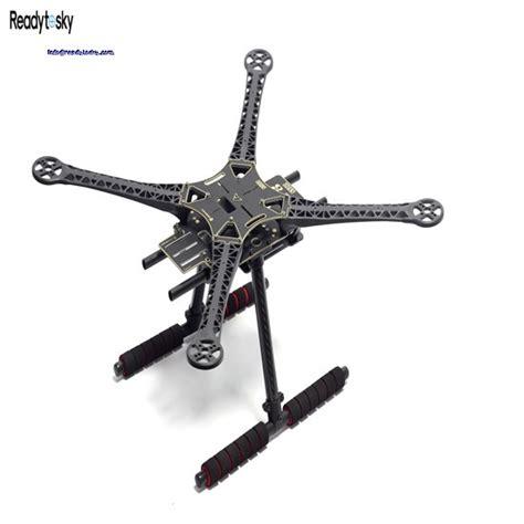 mm  quadcopter multicopter frame kit pcb version  carbon fiber landing gear  fpv