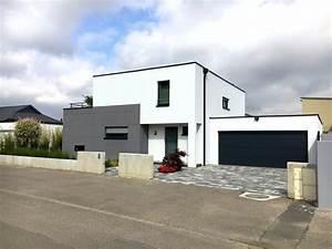 Maison Moderne Toit Plat : maison toit plat en l ~ Nature-et-papiers.com Idées de Décoration
