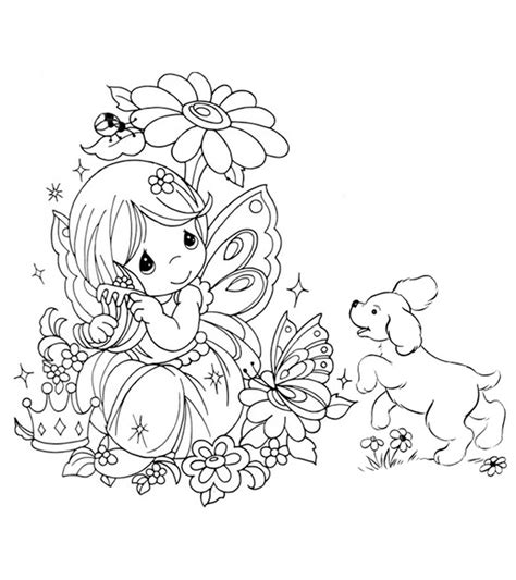 Realistic Fairy Coloring Pages Top 25 Free Printable