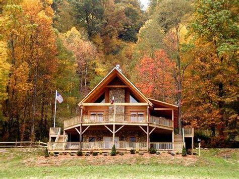 elegant log cabins  sale  south carolina mountains  home plans design