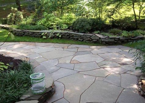 flat flagstone 1000 ideas about bluestone patio on pinterest patio