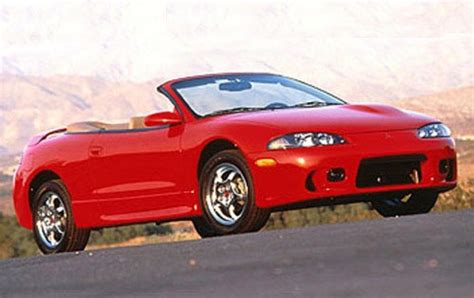 1998 Mitsubishi Eclipse Spyder Convertible by 1998 Mitsubishi Eclipse Spyder Information And Photos