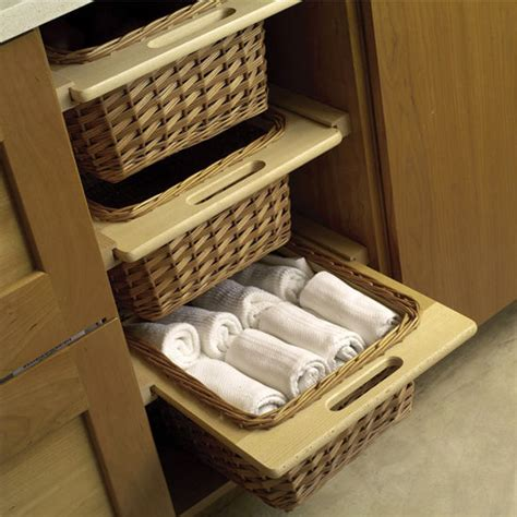 kitchen cabinet storage baskets hafele pull out wicker baskets for 15 or 18 quot framed or 5808