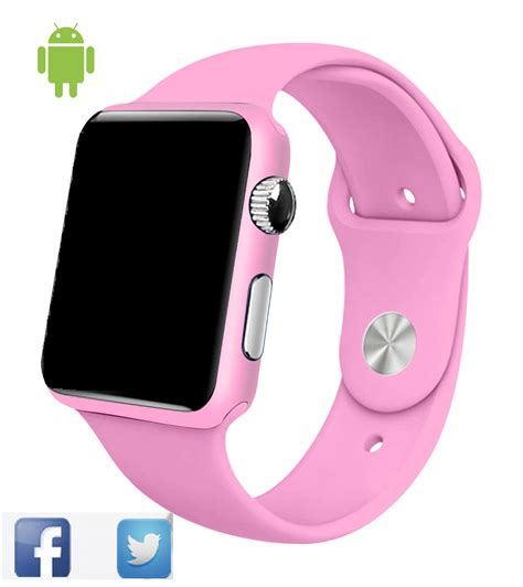 smartwatch android smart g10a paint pink bluetooth wristwatch for