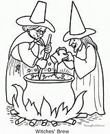 Coloring Halloween Witch Pages Printable Scary Witches Print Adult Sheets Colouring Printables Fun Cat Visit Colors sketch template