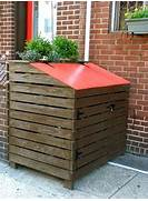 Outdoor Trash Cans by Attractive Outdoor Trash Can Storage Abode