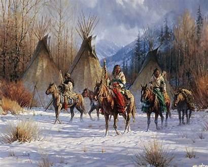 Native Americans Nature Artwork American Indian Warrior