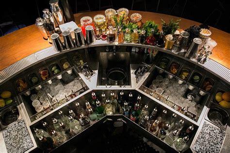 Bar Setup by Lone Palm Cocktails Bar Layout Designed By Agence En