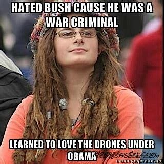 Hippy Memes - the best of liberal chick meme s 248 shooter