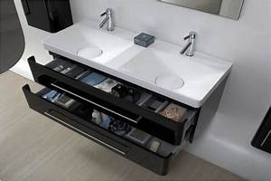 Meuble Salle De Bain Double Vasque Pas Cher : meuble meuble salle de bain double vasque pas cher meuble salle de bain design espace ~ Teatrodelosmanantiales.com Idées de Décoration