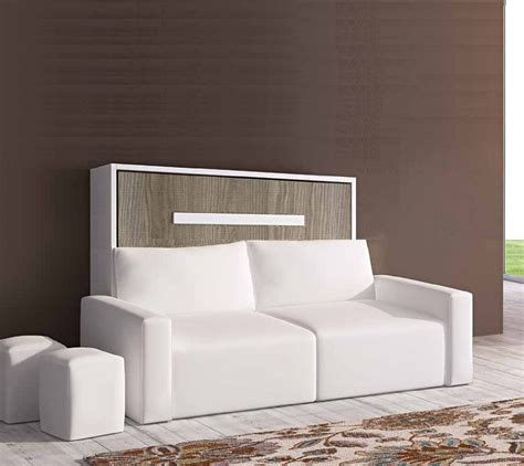 lit avec canapé armoire lit escamotable meubles canapés chezsoidesign