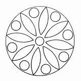 Kaleidoscope Coloring Mandala Pages Mandalas Leerlo Printable Q4 Coloringpages sketch template