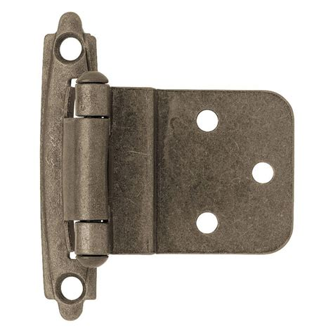 Liberty 38 In Antique Pewter Selfclosing Inset Hinge (1