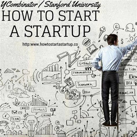 How To Start A Startup By Y Combinator And Stanford