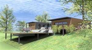 quel type de maison contemporaine choisir pilotis terrain With maison pilotis terrain pente