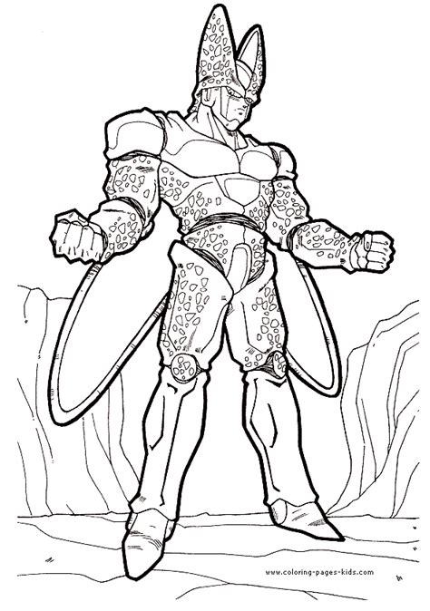 dragon ball  coloring pages boo coloring home