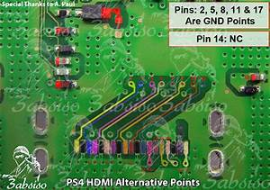 R U00e9paration Hdmi Ps4  U2013  U00e9lectronique Et Diy