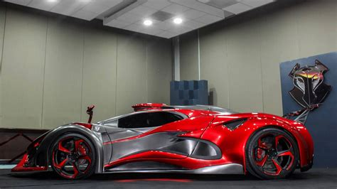 Metal Foam Makes Mexico's Inferno Hypercar Fast, Furious
