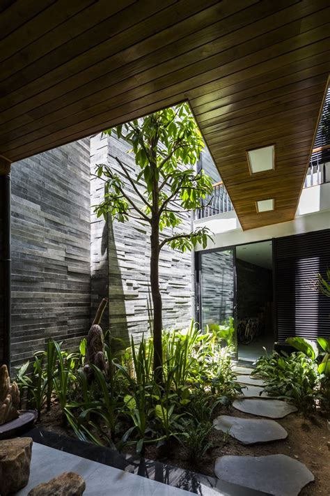 Indoor Garden by Gallery Of Garden House Ho Khue Architects 1 Arch