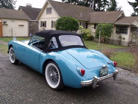 factory colors mga 1500 and roadster