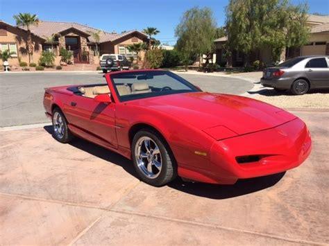 Pontiac Firebird Convertible Rare For Sale Photos