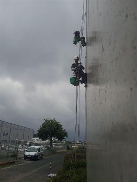 chambre de commerce de montpellier cordistes travaux en hauteur sur cordes nettoyage