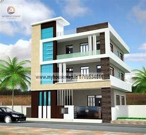 modern elevation design of residential buildings | front ...
