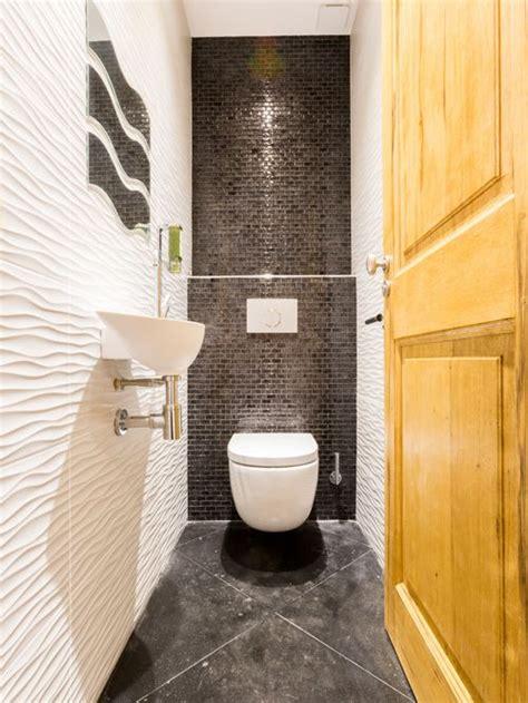 robinet mural cuisine photos et idées déco de wc et toilettes avec un carrelage gris