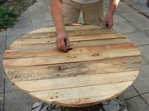 construire une table de jardin en bois de palette sur With construire une table de jardin en bois