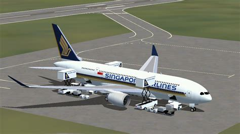Singapore Airlines Airbus A370 for FSX
