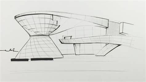 Haus Skizze Einfach by Architektur Skizzieren Lernen Ganz Einfach Geb 228 Ude