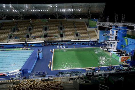 olympic diving pool   water polo pool