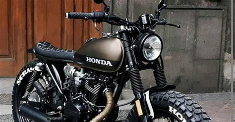 Modif Motor Cb Yang Bagus by Berbagai Aliran Modifikasi Motor Honda Cb Yang Bagus Keren
