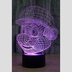 Kettymore Super Mario 3d Light Colourful Atmosphere Lamp