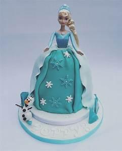 Frozen Princess Elsa Cake - CakeCentral com