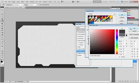 PhotoShop CS5 Tutorial - Creating Borders - YouTube