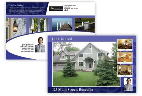 real estate postcard mac users create a postcard using pages movingelpaso