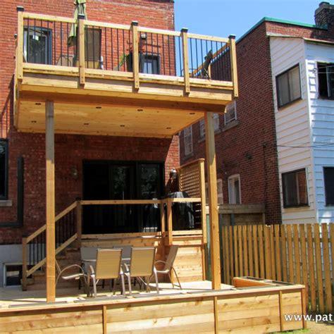 two story decks archives patios et cl 244 tures beaulieu