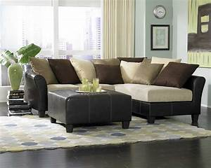 modern decorative stone decoseecom With black leather sectional sofa decorating