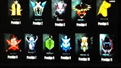 report call  duty advanced warfare prestige emblems