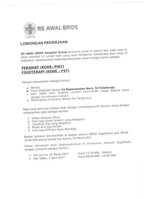 RS AWAL BROS-2 - Universitas 'Aisyiyah Yogyakarta