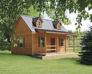 Cape Cod Tiny Log Cabins Manufactured in PA