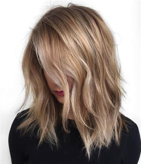 layered hair color ideas 40 styles with medium hair for major inspiration