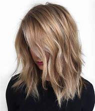 Medium Length Blonde Hair Color