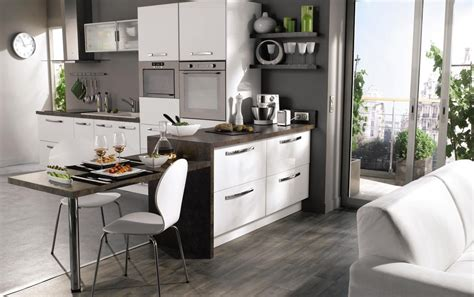modeles de petites cuisines cuisine ouverte photo 19 25 une cuisine