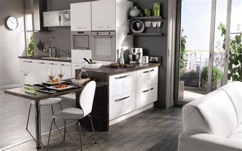 idee amenagement petite cuisine ouverte cuisine en image