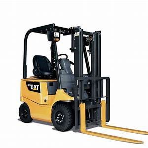 Cat 4-wheel Electric Forklift Ep25ca