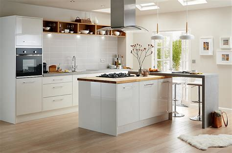 Cooke & Lewis Raffello High Gloss White Slab Rustic Kitchen Menu Hingham Narrow Galley Ideas Pictures Of Small Makeovers Contemporary Storage Jars Lighting Traditional White Table Design Plans