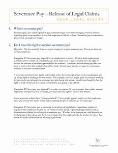 severance agreement negotiation letter 28 images how to With severance letter template
