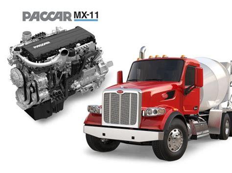 Peterbilt Offers Mx11 Engine With Model 579, 567 News